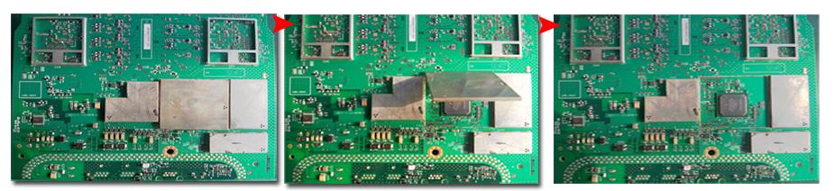 全自动BGA返修台返修屏蔽盖芯片