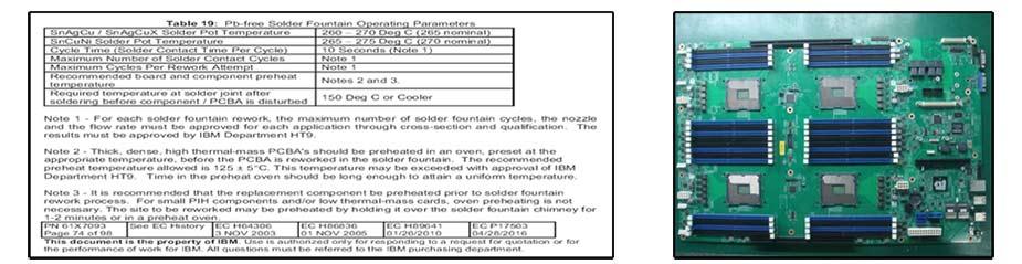 PTH返修台返修各类服务器主板PTH通孔器件案例