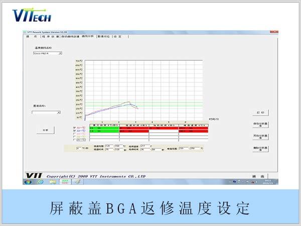 屏蔽盖BGA返修温度设定