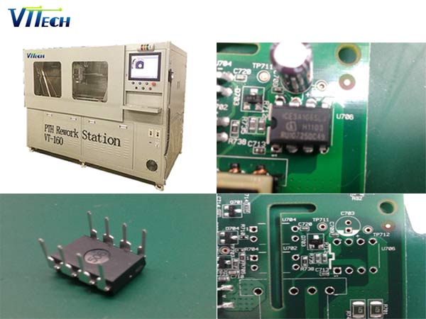 DIP插件元件,PTH通孔元件拆焊返修设备哪家好