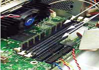 DIMM组件的成功返修效果
