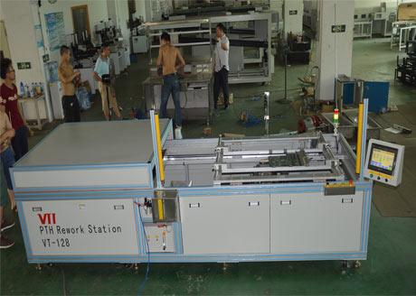 常规SMT贴装芯片机器
