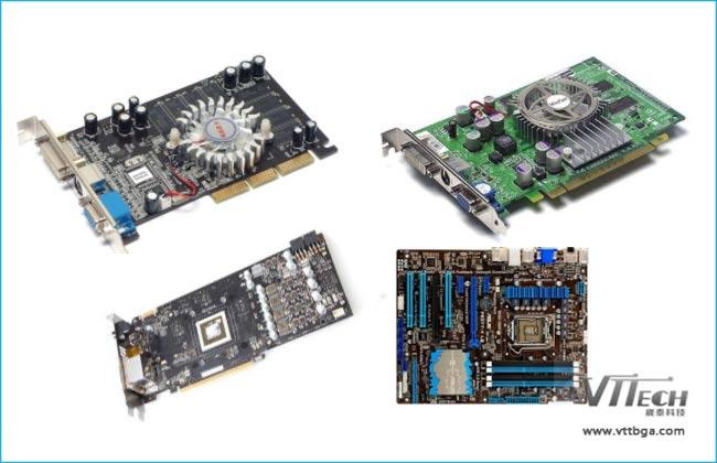显卡重做BGA返修台返修CPU类型