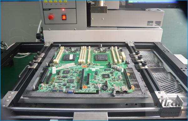 BGA返修台降低PCBA板变形的原因