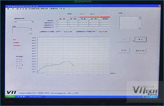 BGA返修台温度曲线峰值设置