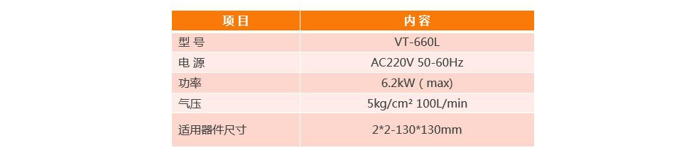 全自动BGA除锡机VT-660L产品参数